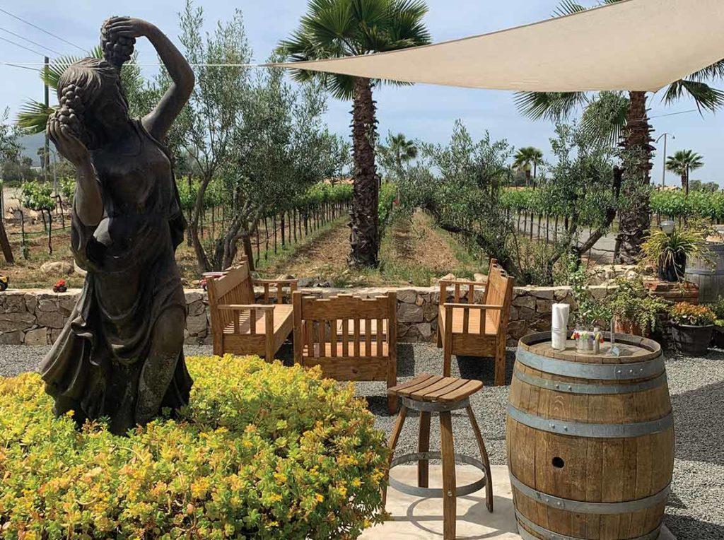 lechuza vineyard fountain
