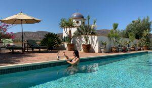 Adobe Guadalupe pool