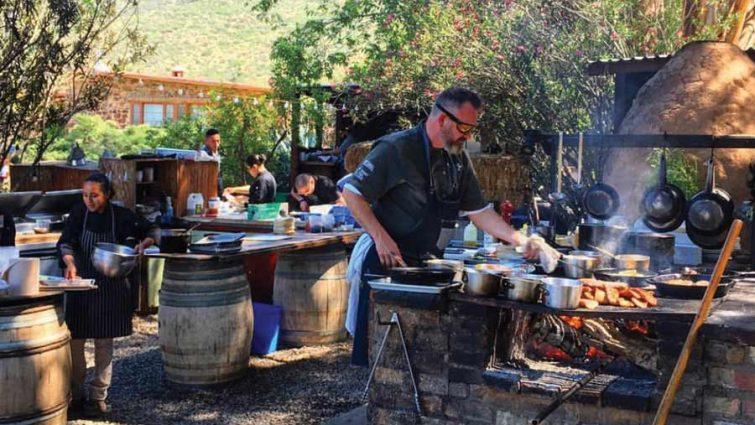 Deckman's Valle de Guadalupe Chef Drew Deckman