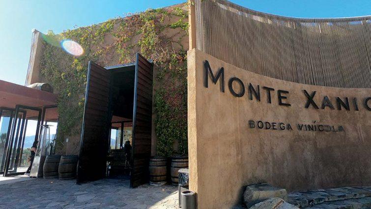 Monte Xanic entrance doors